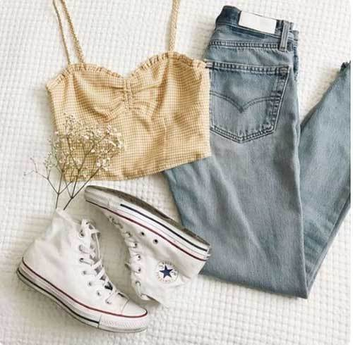 Casual Denim Outfit for Women