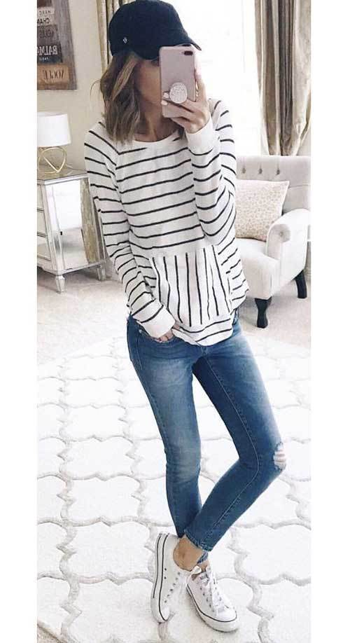 Womens Young Mom Spring Outfits