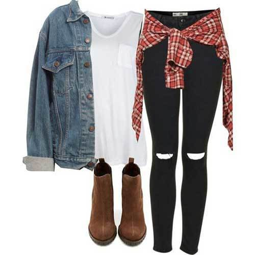 Back to High School Outfits for Girls