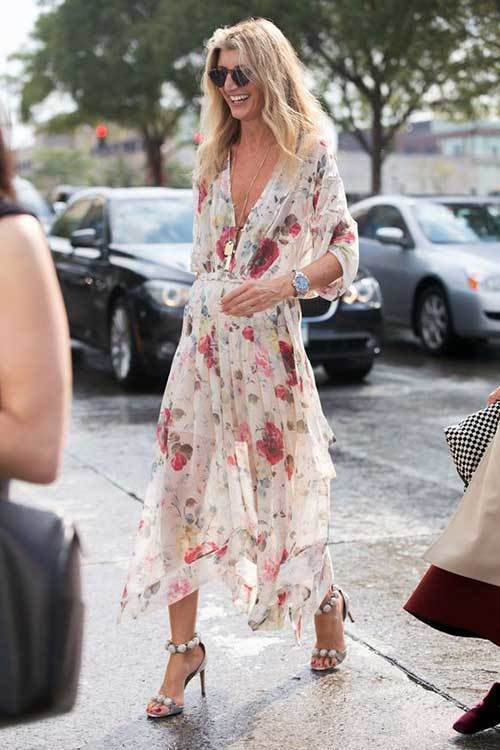 Summer Street Style Bohemian Outfit Ideas