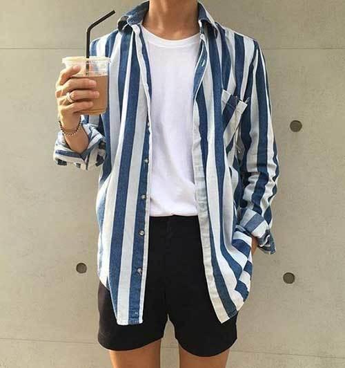 Retro Summer Outfit İdeas Men