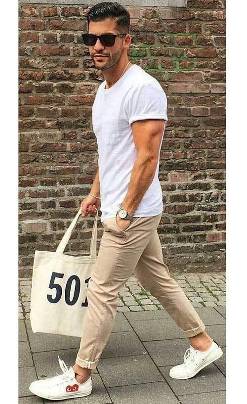 Summer Casual Outfit İdeas Men