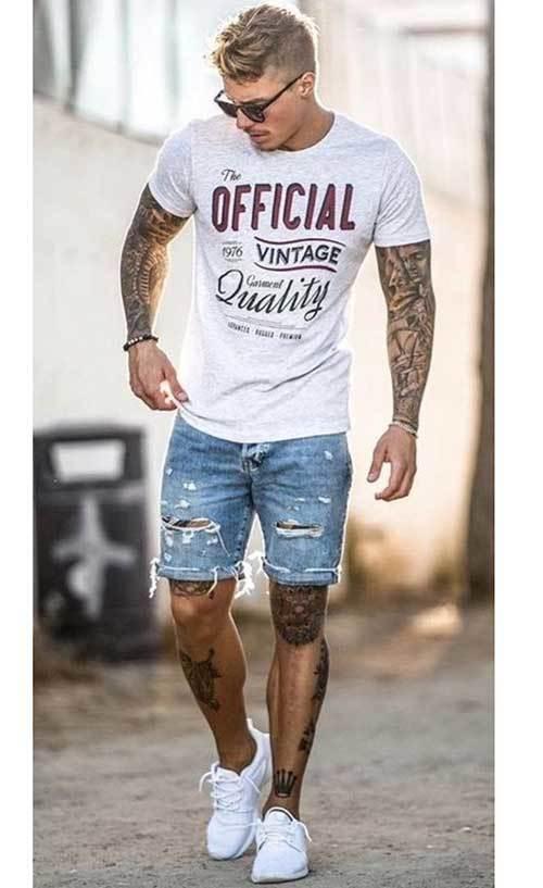 Summer Denim Outfit İdeas Men