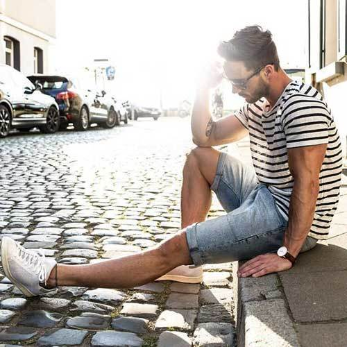 Summer Street Style Outfit İdeas Men