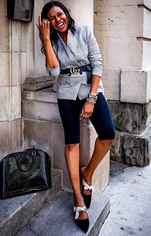 Biker Shorts Classy Fashion