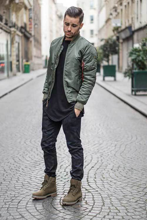 Bomber Jacket Outfits for Men