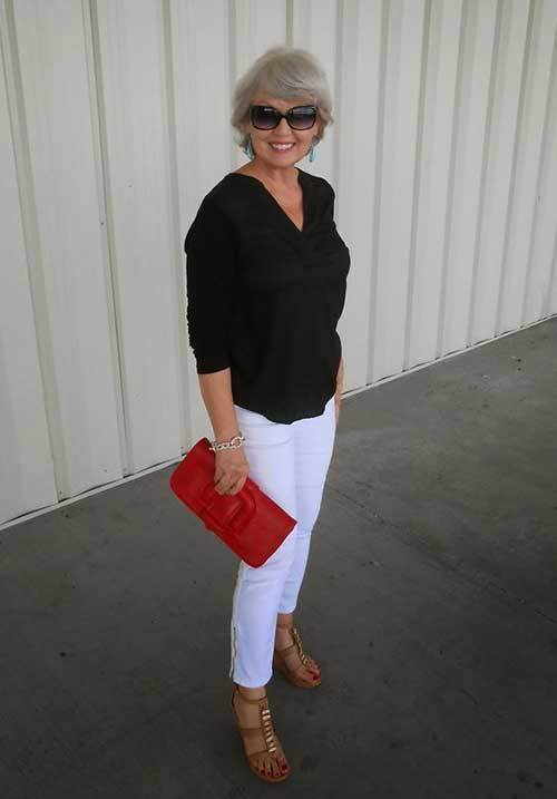 Casual Summer Outfits for Older Women