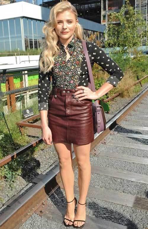 Chloe Moretz Street Fashion