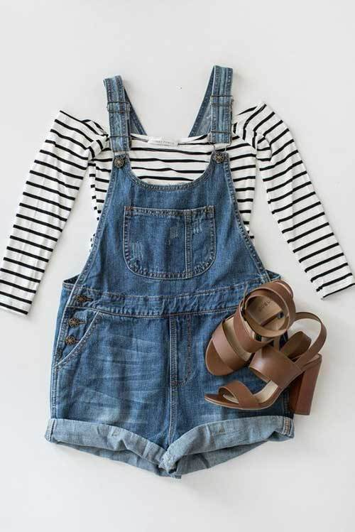 Cute Denim Outfit for Women