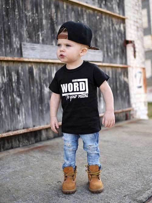 Boy Toddler Cute Outfits