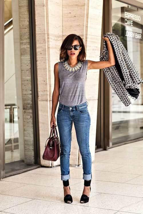 Denim Summer Outfit for Women