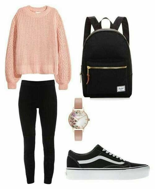 Back to School Easy Outfits for Girls