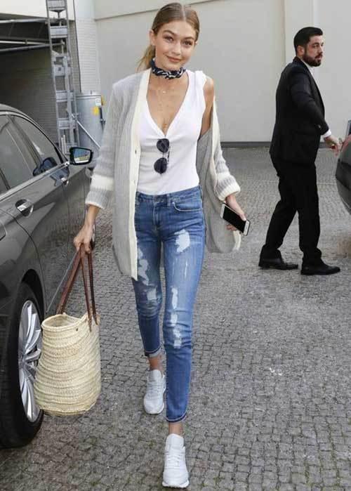 Gigi Hadid Latest Street Style