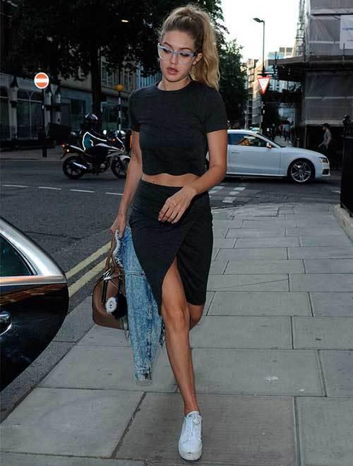 Gigi Hadid Street Style Fashion