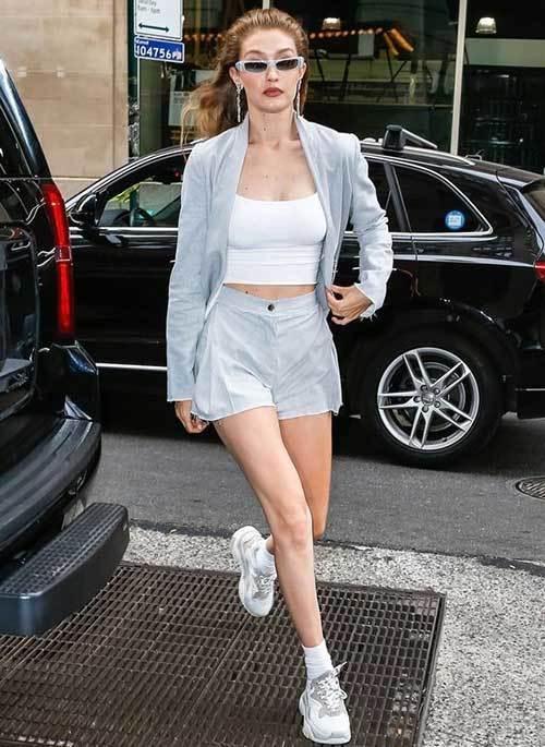 Gigi Hadid Street Style 2019