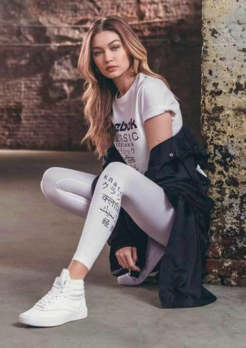 Gigi Hadid Street Style Sport Wear
