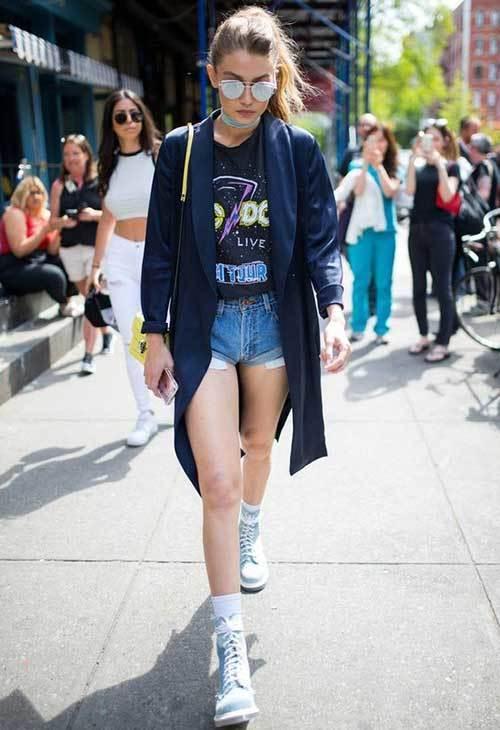 Gigi Hadid Summer Street Style