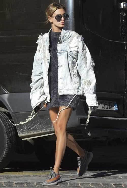 Hailey Baldwin Street Fashion