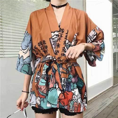 Japanese Kimono Cardigan Outfit Ideas