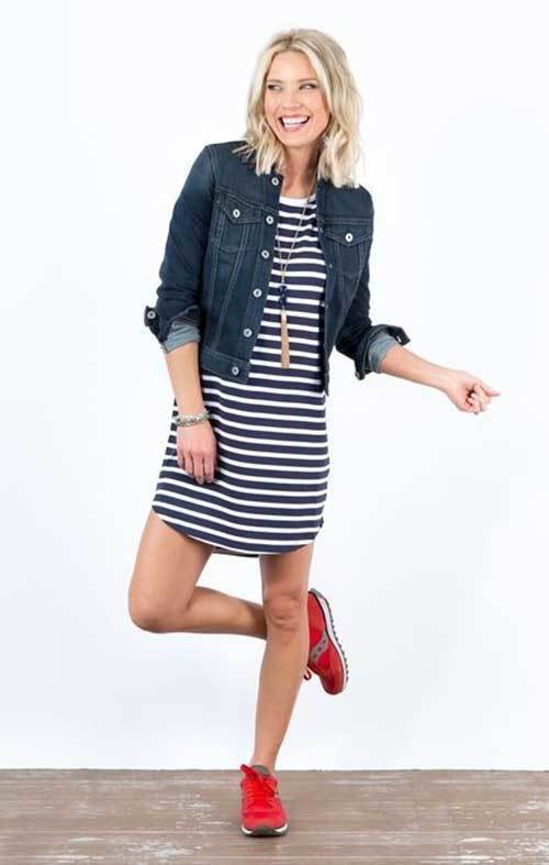 Womens Denim Jacket Spring Outfits