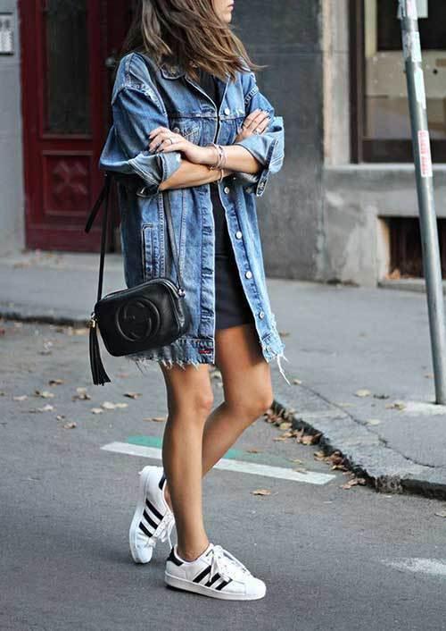 Denim Shirt Summer Outfit