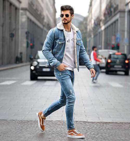 Full Denim Outfits for Men