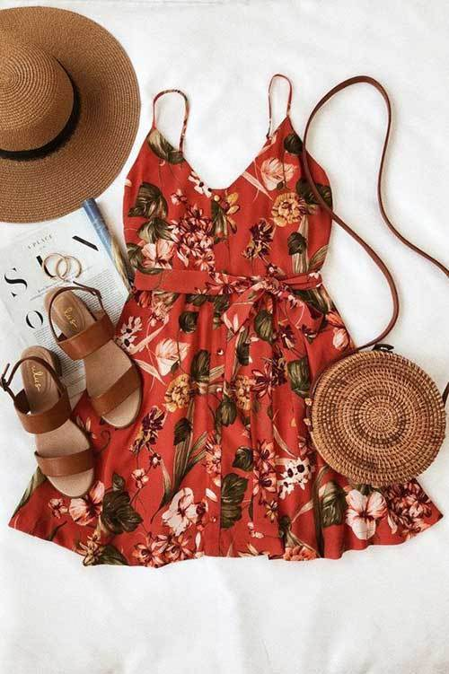 Cute Summer Mini Dress Outfits