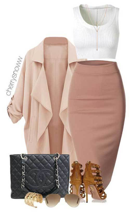 Women's Nude Color Night Out Outfits