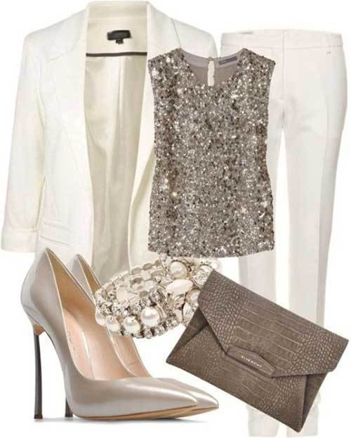 Casual Nude Tones Party Outfit Ideas