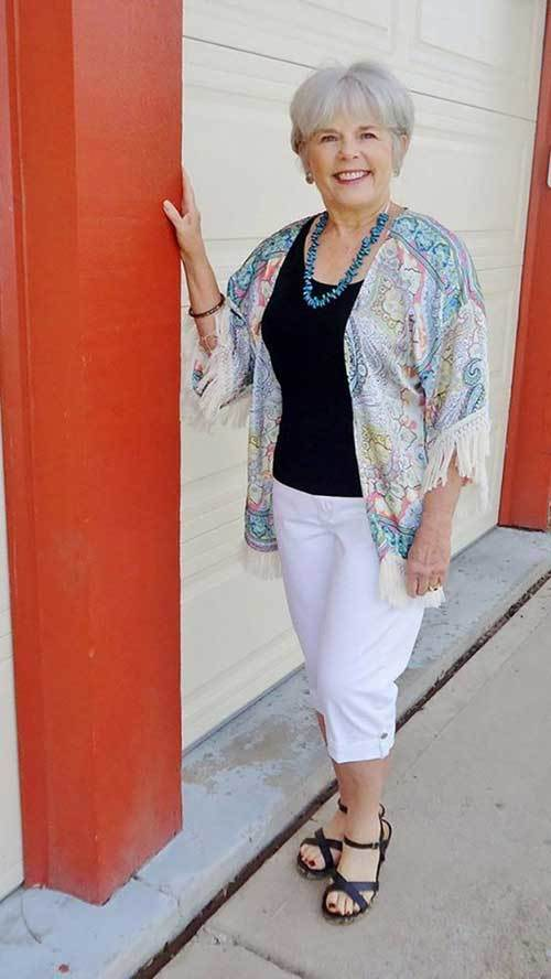 Simple Outfit Fashion for Older Women