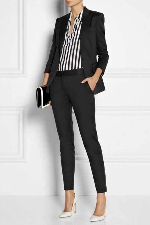 Womens Slim Fit Work Outfit