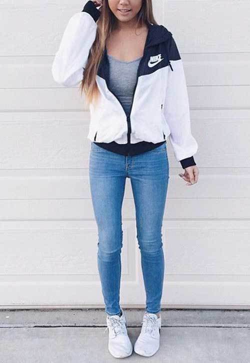 Back to School Sporty Outfits