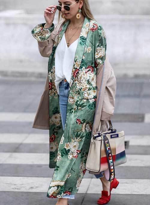 Spring Trend Kimono Cardigan Outfit Ideas