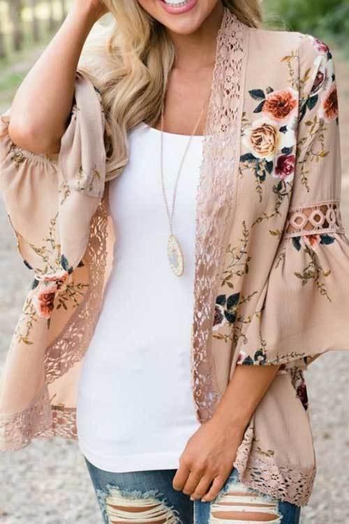 Stylish Kimono Cardigan Outfit Ideas