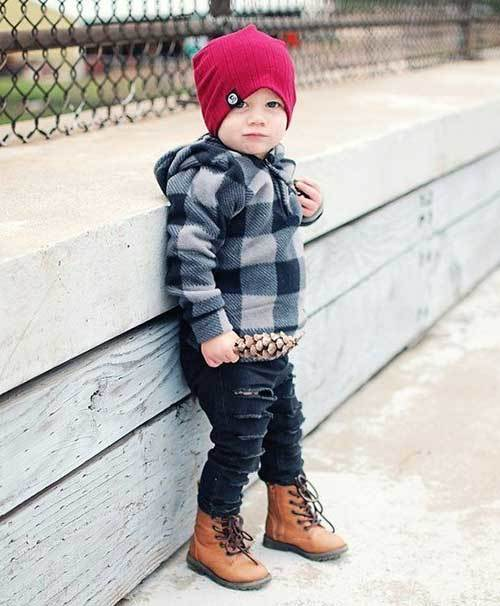 Boy Toddler Hoodie Outfits