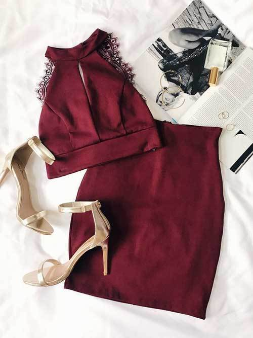 Women's Two Piece Night Out Outfits