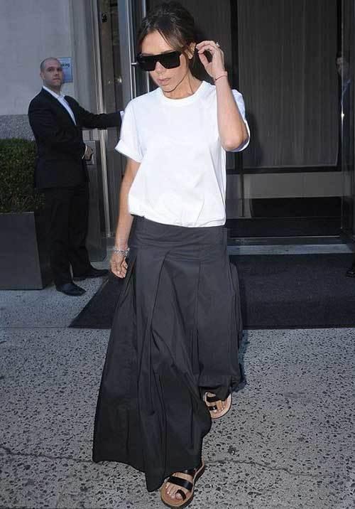Victoria Beckham Street Fashion