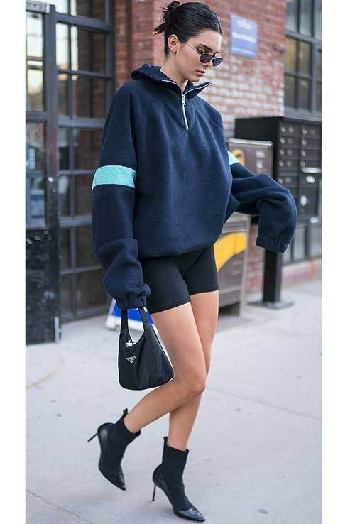Women Biker Short Outfits