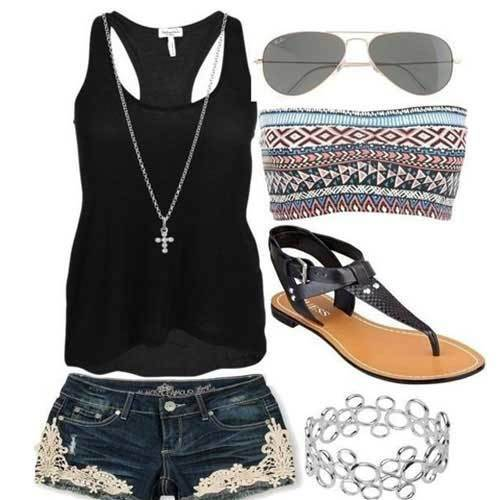 Easy Summer Teenage Outfits-10