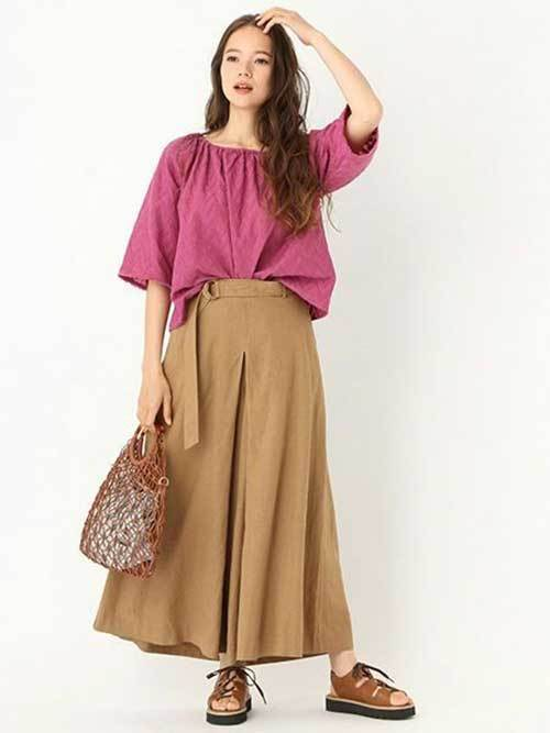 Easy Summer Wide Legged Pants Outfits-11
