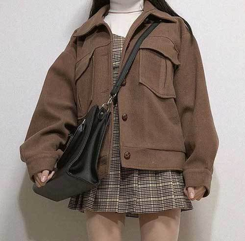 Korean Fashion College Outfits-13
