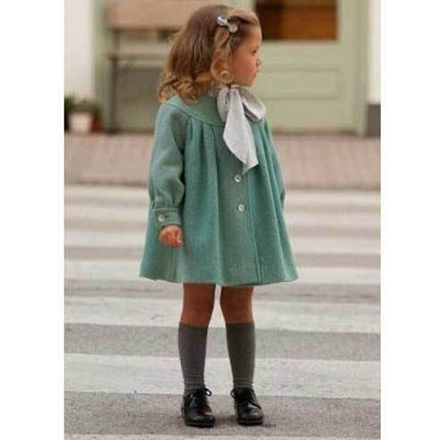 Toddler Girl Dress Vintage Outfits-13