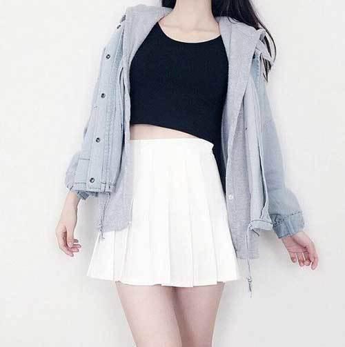 Korean Fashion Hooded Outfits-14