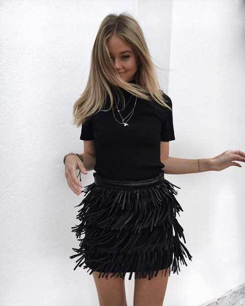 Summer Night Out Skirt Outfits