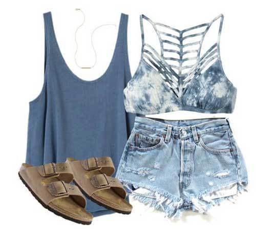 Easy Summer Beach Outfits-15