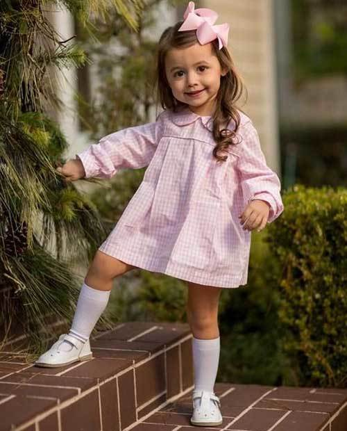Pretty Toddler Girl Dress Outfits-16