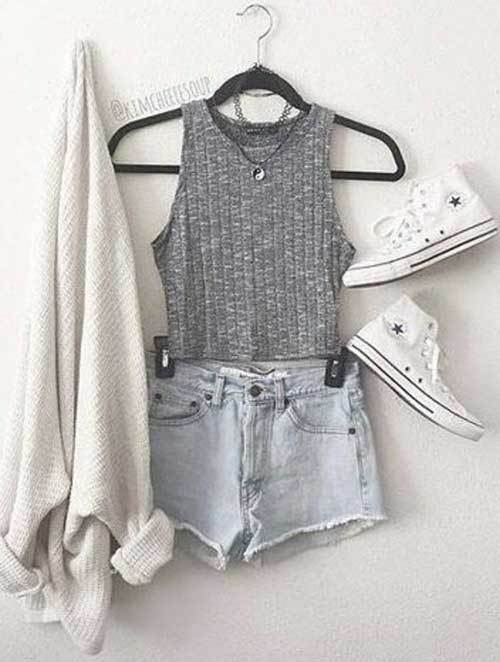 Easy Summer Teen Outfits-19