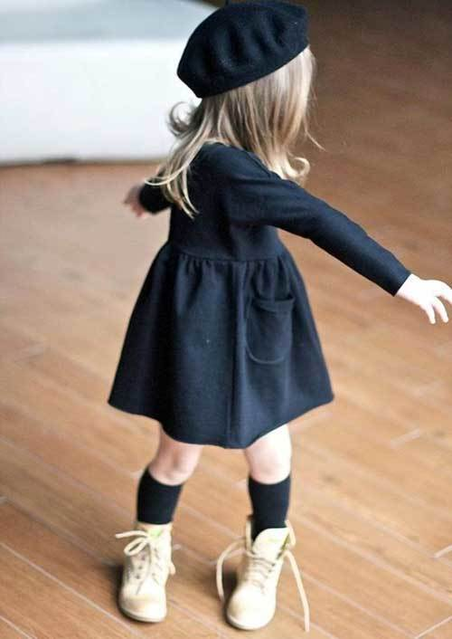 Fashionable Toddler Girl Dress Outfits-19