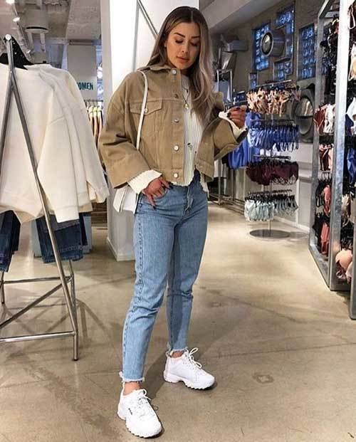 Mom Jean Casual Outfit Ideas-19