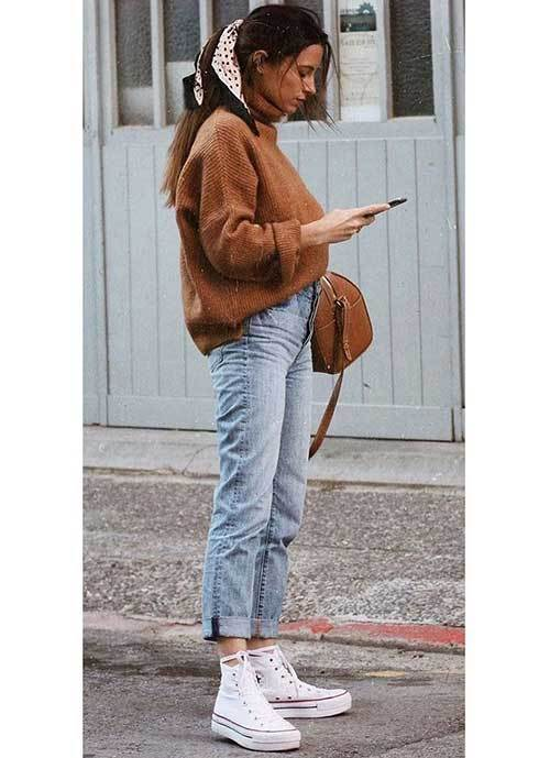 Mom Jean Loose Sweat Outfit Ideas-20